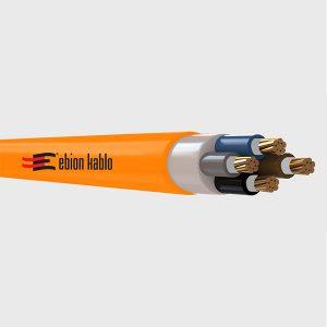 YXZ1 FE180 halojensiz alev iletmeyen alçak gerilim güç kabloları